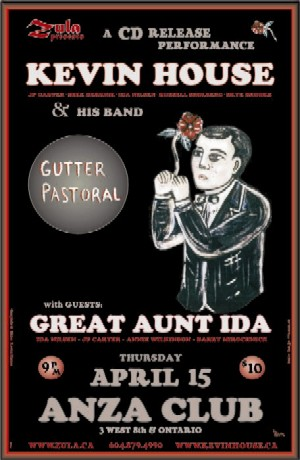 Kevin House & His Band plus Great Aunt Ida -- 4.15.04 -- ANZA Club