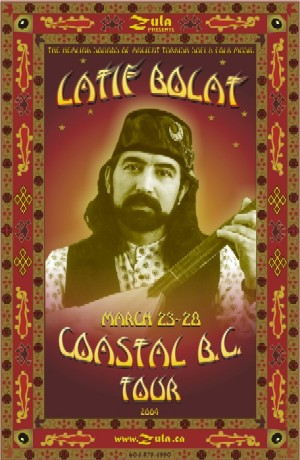 Latif Bolat BC Tour -- March 2004