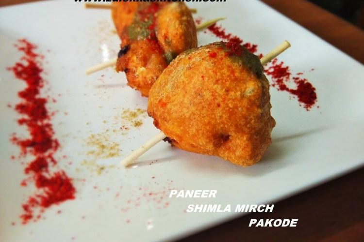 Paneer Pakora/ Shimla Mirch Fritters