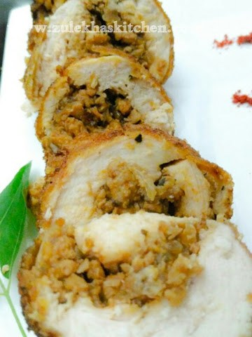 Chicken Roulade recipe
