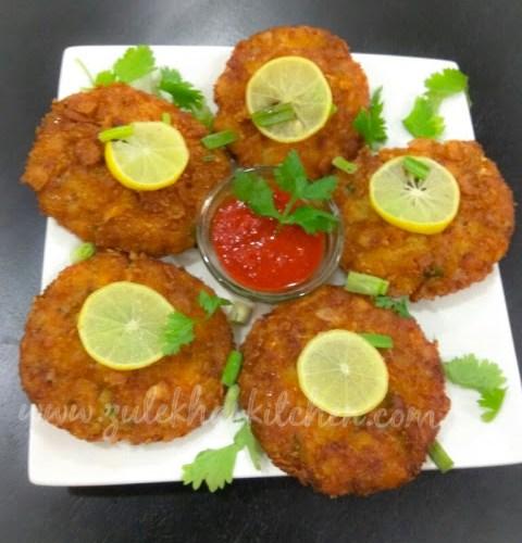 Memoni Chicken Cutlet / Russian Cutlet