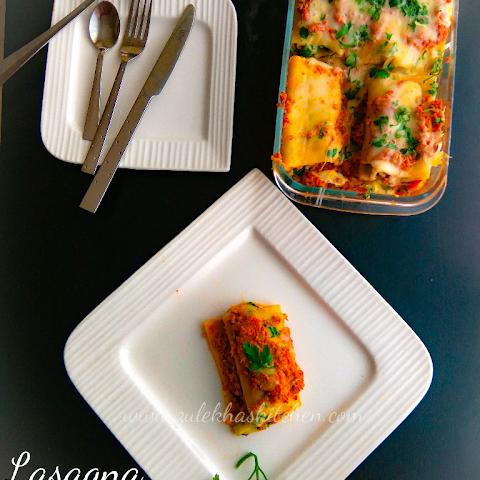 Lasagna Recipe | Lasagna Roll ups Recipe