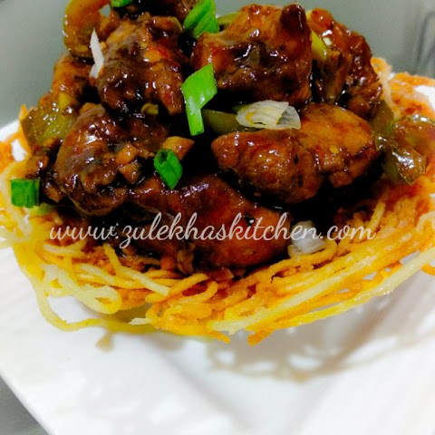 Chicken In Noodles/ Noodle Basket