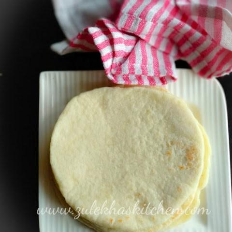 Home Made Pita Breads / Khuboos recipe