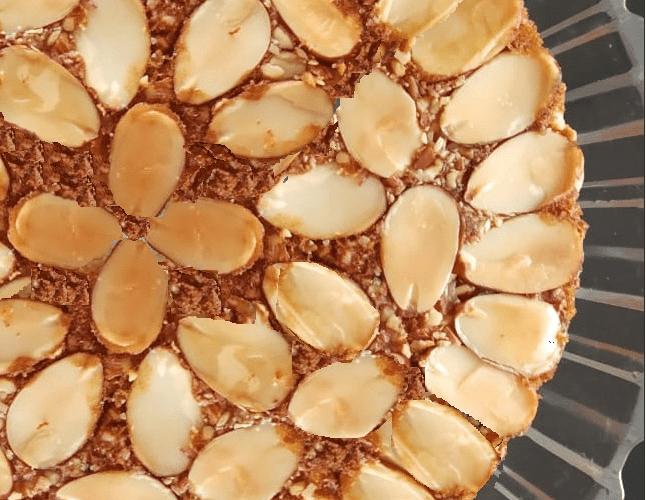 Almond Cake Recipe Without Oven | Tea Cake Recipe