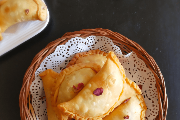 Gujiya Recipe without Mould. Holi Special