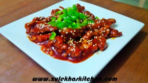 hot garlic chicken recipe