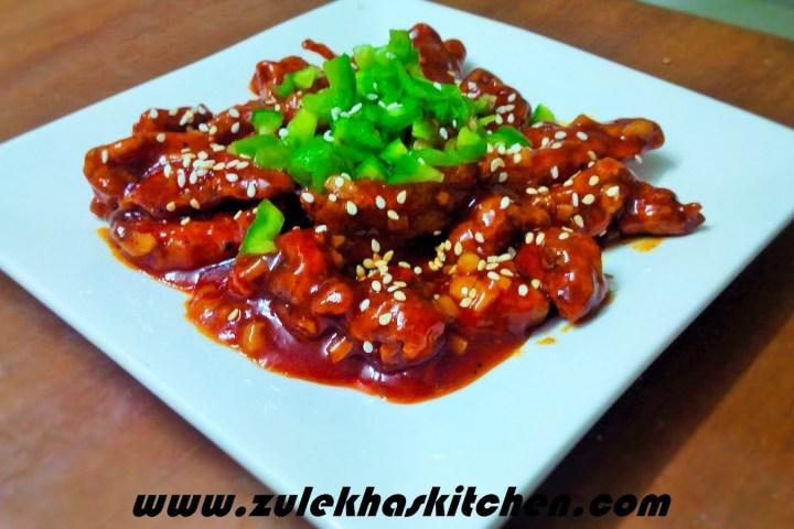 Recipe of Hot Garlic chicken / potatoes
