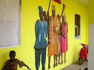 Art Work In Ga Mantse's Palace