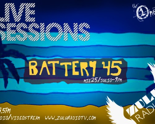 Live Session (Battery 45) Disponible