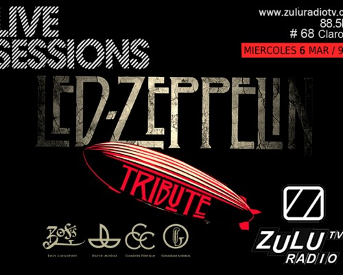 Live Session (Led Zeppelin Tribute) Disponible