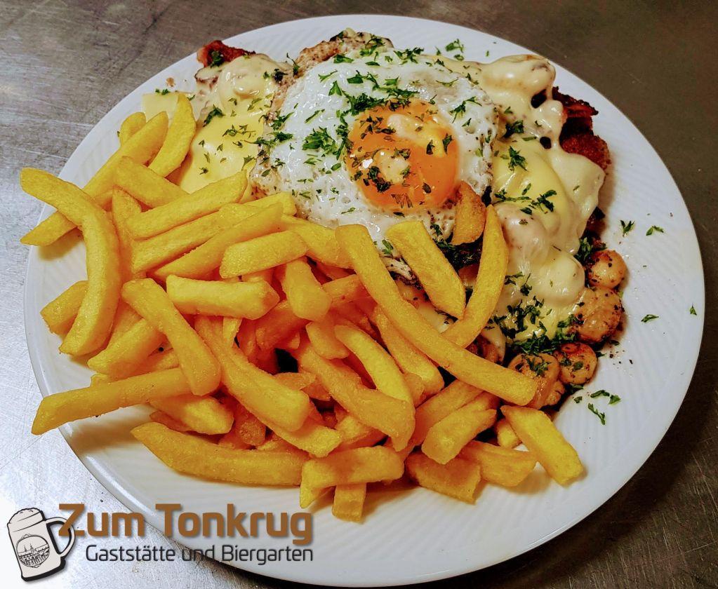 Tonkrug-Schnitzel