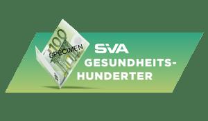 Logo SVA Gesundheitshunderter