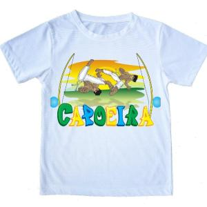"Capoeira T-Shirt - ""Capoeira Fighters"" - 100% Cotton - Kids and Adults - ZumZum Capoeira Shop"