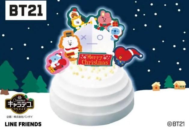 ファミマのクリスマスケーキ2021予約期間はいつからいつまで?特典や内容も3