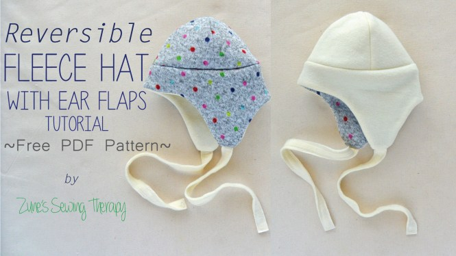 1215baa529c Fleece hats with ear flaps are a perfect winter wardrobe staple. They re so  quick and easy to make for your little one and they also make great gifts.