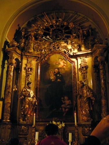 Oltar sv. Antuna Padovanskog