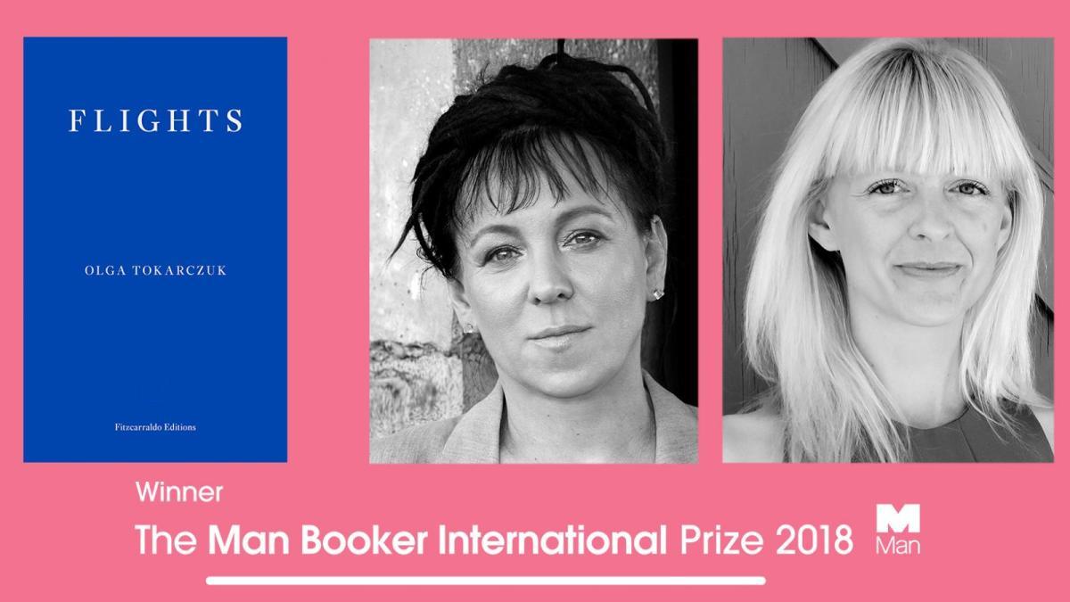 Olga Tokarczuk nagrodzona The Man Booker International Prize | Pierwszy raz nagrodzono polskiego pisarza