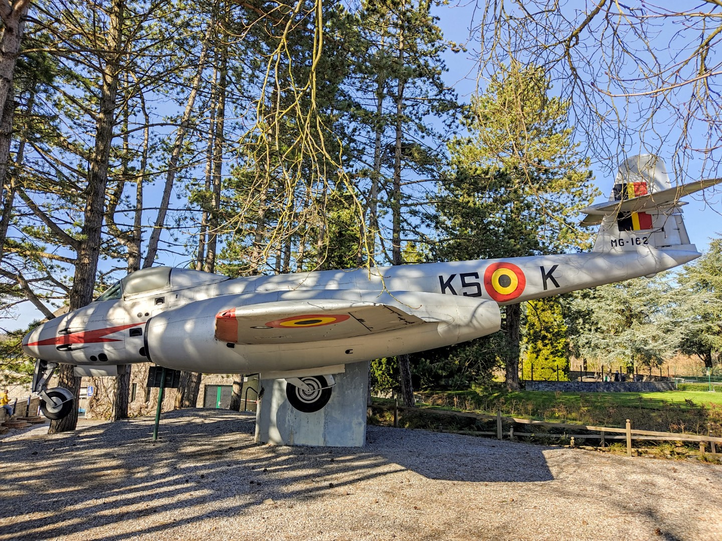 Gloster Meteor F.8 MG-162 (Royal Belgian Air Force) in Dinant