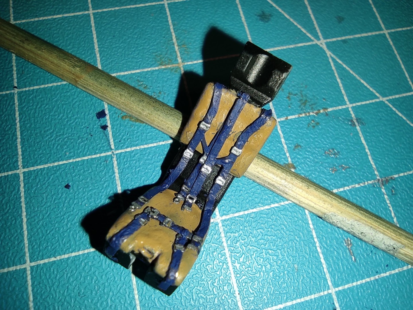 [Work-in-Progress] Airfix Gloster Meteor F.8 - Re-purposing some old F-104 seatbelts.