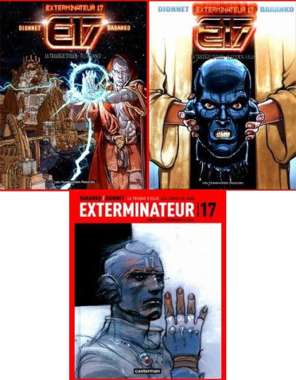 Exterminateur 17- La trilogie d'Ellis
