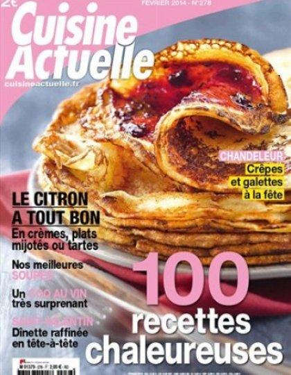 Cuisine Actuelle n° 278 - Février 2014