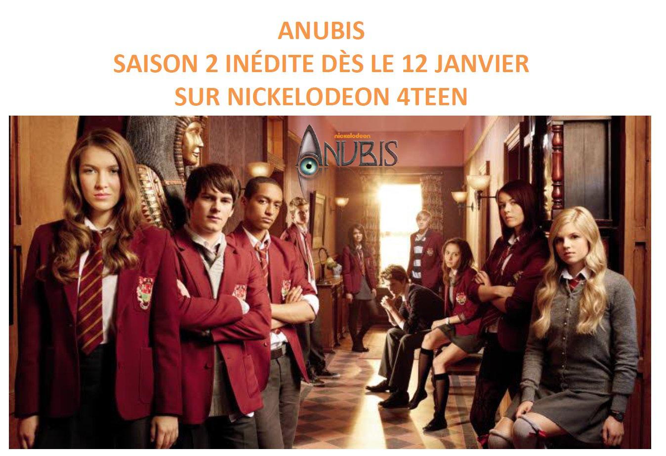 anubis saison 2 vf