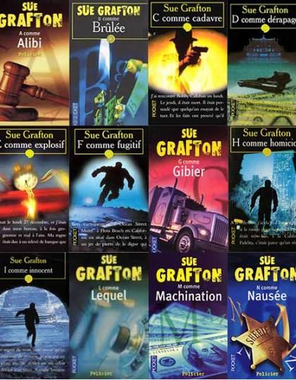 Sue Grafton : les enquêtes de Kinsey Millhone - 13 ebooks