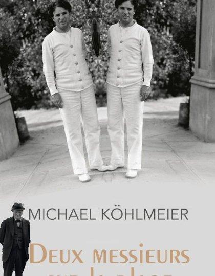 Deux messieurs sur la plage - Kohlmeier Michael