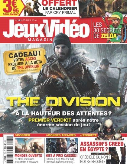 Jeux Vidéo magazine N°181 - Février 2016