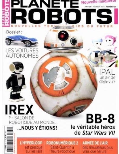 Planete Robots No.37 - Janvier/Février 2016