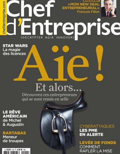 Chef d'Entreprise magazine N°104 - Février-Mars 2016