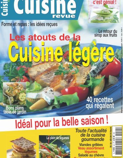 Cuisine Revue N°40 - Les atouts de la cuisine légère