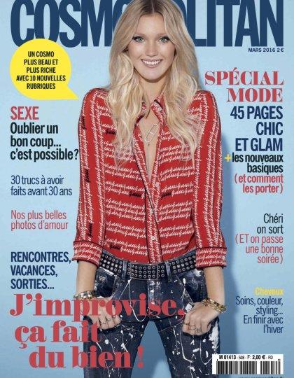 Cosmopolitan N°508 - Mars 2016