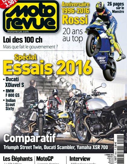 Moto Revue N°4022 - 17 Février 2016