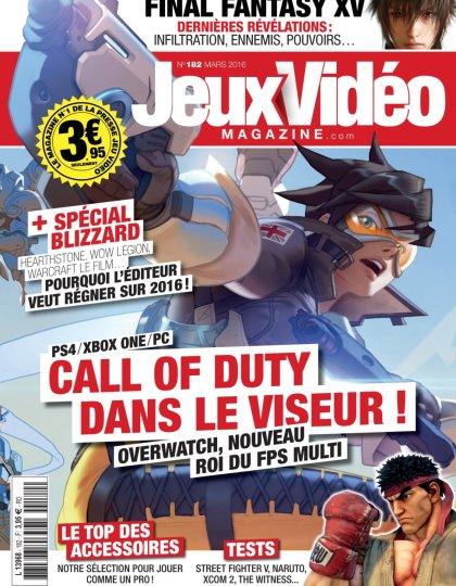 Jeux Vidéo magazine N°182 - Mars 2016
