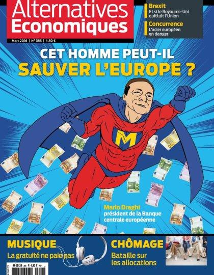 Alternatives Économiques N°355 - Mars 2016