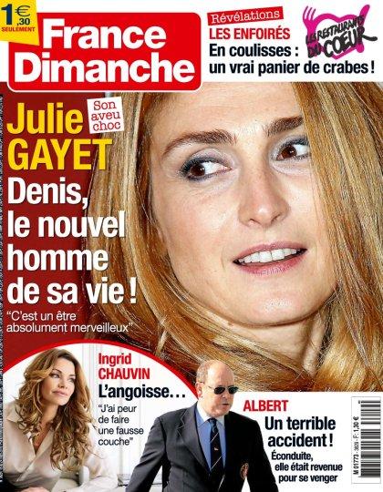 France Dimanche N°3629 - 18 au 24 Mars 2016
