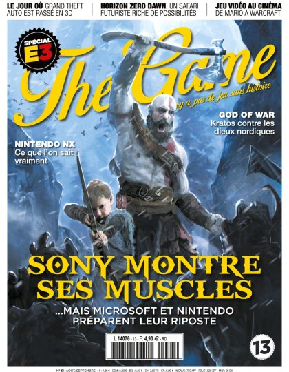 The Game N°13 - Aout/Septembre 2016