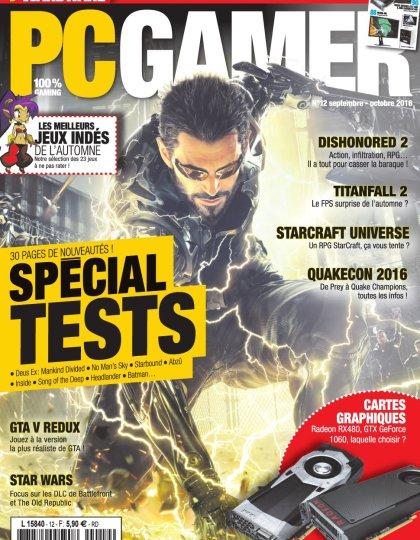 PC Gamer N°12 - Septembre/Octobre 2016