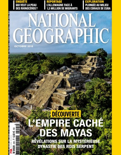 National Geographic N°205 - Octobre 2016