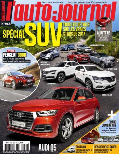 L'Auto-Journal N°968 - 13 au 26 Octobre 2016