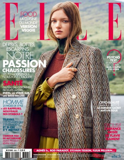 Elle France N°3695 - 14 au 20 Octobre 2016