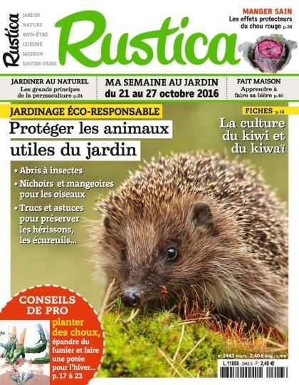 Rustica N°2443 - 21 au 27 Octobre 2016
