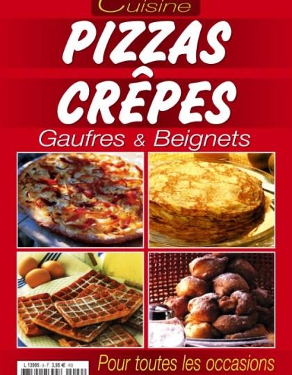 60 Recettes Faciles N°2 - Pizzas/Crèpes