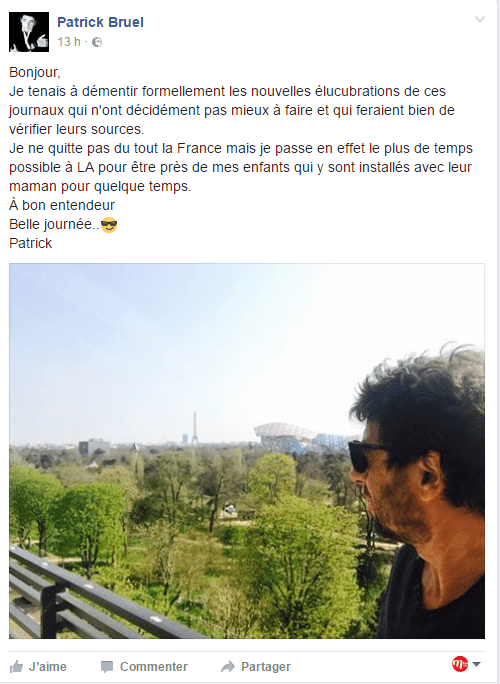 Patrick Bruel Le Temps Qui Passe : patrick, bruel, temps, passe, Réponse, Détour, Patrick, Bruel, Rumeurs.