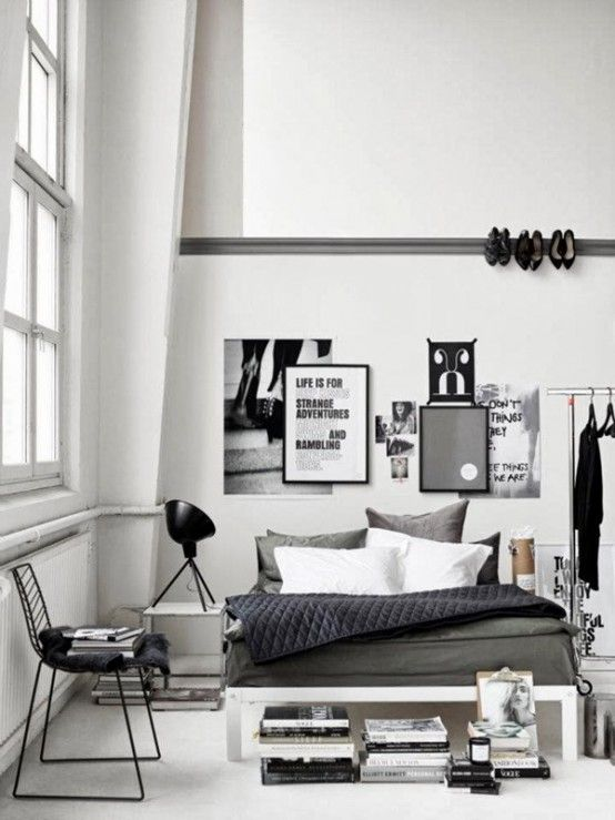 Chambre industriel minimaliste