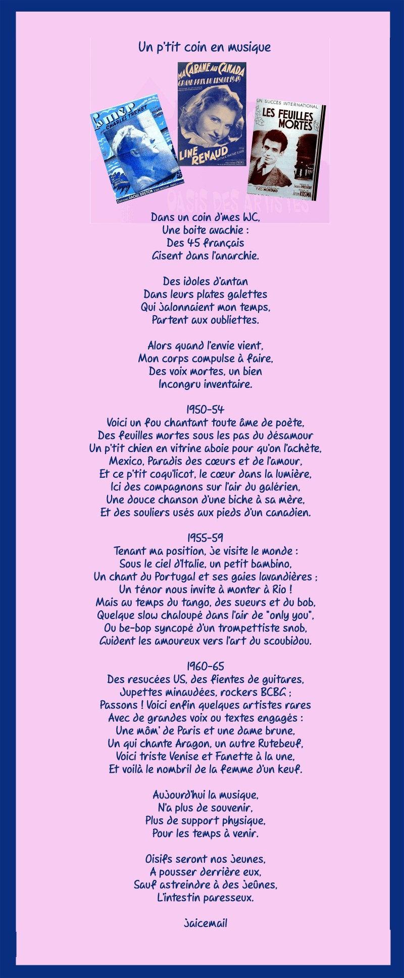 Chanson Un Petit Coin De Paradis : chanson, petit, paradis, Poèmes, Ligne, ***UN, JOUR***,
