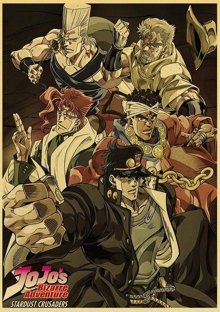 Poster Stardust Crusaders