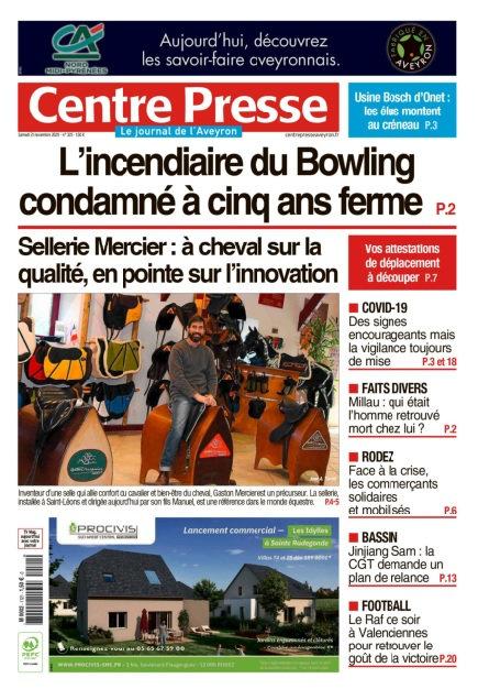 Avis De Deces Centre Presse Aveyron : deces, centre, presse, aveyron, Journal, Centre, Presse, Aveyron, Samedi, Novembre